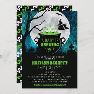 A Baby Is Brewing Halloween Baby Shower