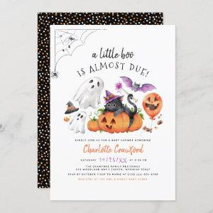 A Little Boo Is Almost Due Halloween Baby Shower