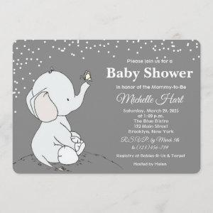Adorable Elephant Baby Shower