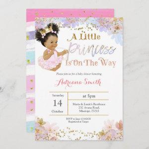 African American Baby Shower invite