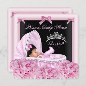 African American Little Princess Baby Shower Girl
