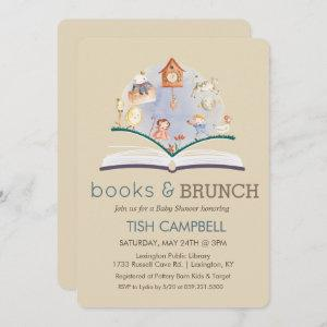ANY COLOR Vintage Storybook Baby Shower Invitation