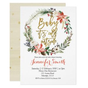 Baby Its Cold Outside couple shower invitations