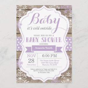 Baby Its Cold Outside Winter Baby Girl Shower