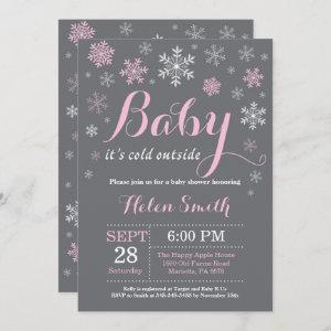 Baby Its Cold Outside Winter Baby Shower