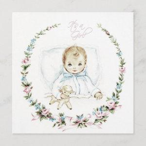 Baby Pink Vintage Baby Girl Shower