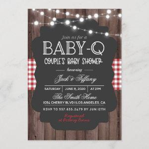 Baby-Q Barbecue Baby Shower