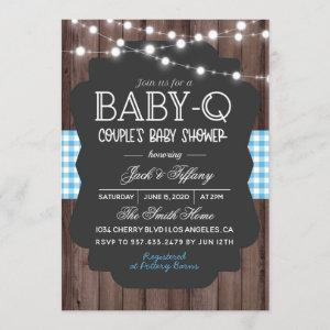 Baby-Q Barbecue Baby Shower Invitation