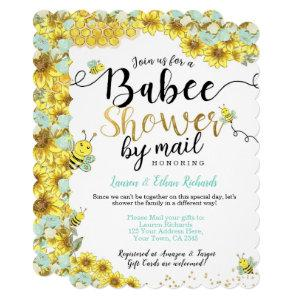 Baby Shower by Mail Bee Invitation
