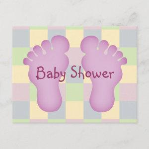 Baby Shower girl Invitation