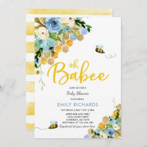 Bee Baby Shower  Floral Babee Shower