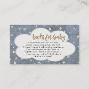 Book Request for Boy's Baby Shower Invitation