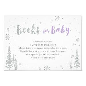 Books for Baby, Book Request, Baby Shower Activity Invitation