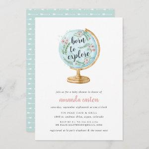 Born to Explore Baby Shower
