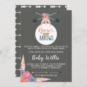 Bows or Arrows Invitation - Gender Reveal Party