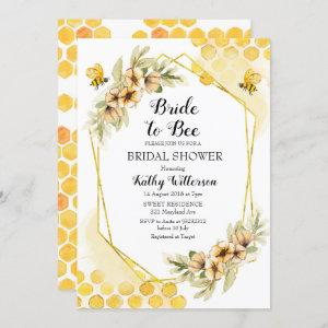 Bride to bee bridal shower