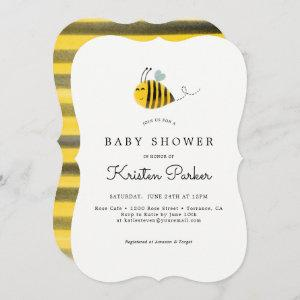 Bumble Bee Themed Baby Shower  Cards