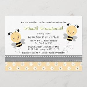 Bumble Bee Twins Baby Shower