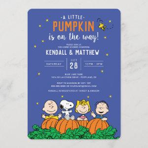 Charlie Brown and Gang Pumpkin Baby Shower
