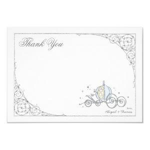 Cinderella Carriage | Fairytale Thank You Invitation