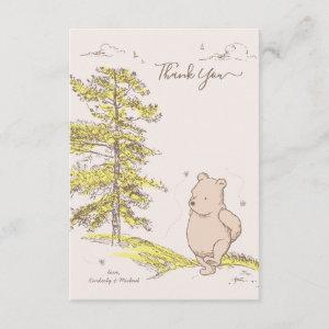 Classic Pooh | Baby Shower Thank You