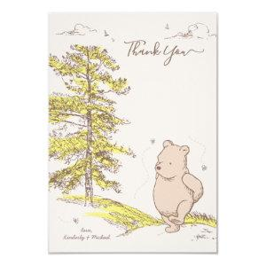 Classic Pooh | Baby Shower Thank You Invitation