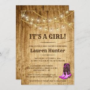 Country Baby Shower  for girl
