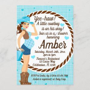 Country CowGirl Baby Boy Shower