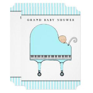 Creative Boy Baby Shower Invitation