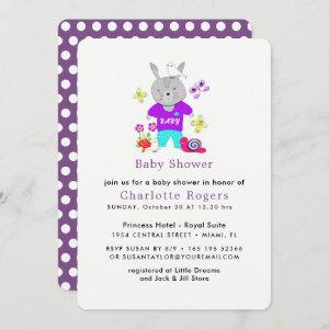 Cute Baby Toy Bunny Rabbit Baby Shower
