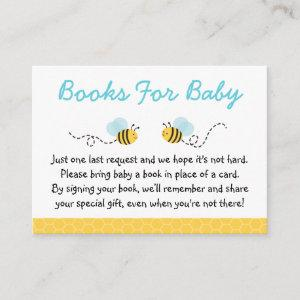 Cute Bumble Bee Book Request Cards
