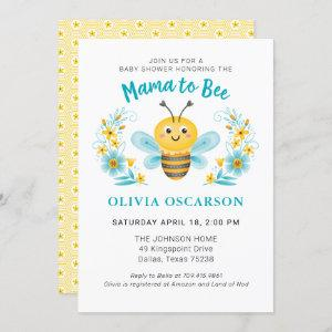 Cute Mommy to Bee Boy Baby Shower