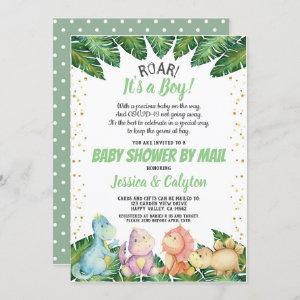 Dinosaur It's a Boy Baby Shower By Mail