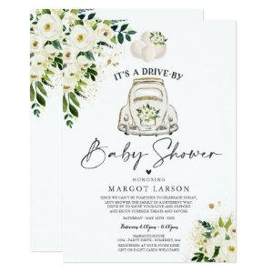 Drive By Baby Shower Invitation Gender Neutral