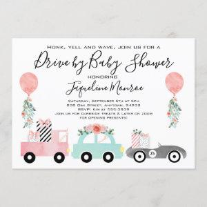 Drive by baby shower  Girl baby shower