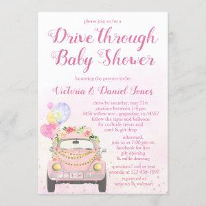 Drive By Covid Baby Shower