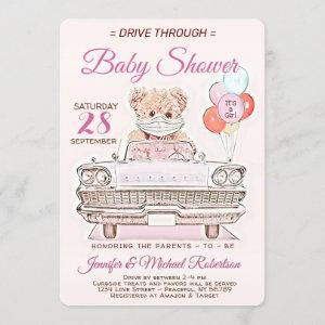 Drive Through Baby Shower for a Girl