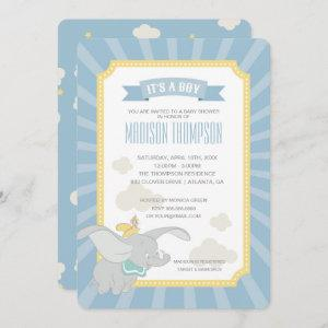 Dumbo | Boy Baby Shower Invitation