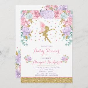 Fairy Baby Shower  Floral Fairy Shower