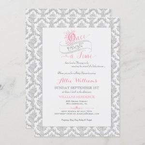 Fairytale Once Upon a Time Princess Baby Shower Invitation