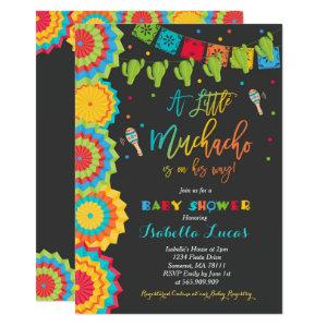 Fiesta Baby Shower Invitation Boy Fiesta Shower