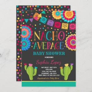 Fiesta Baby Shower Invitation Nacho Average Shower