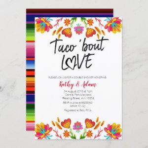 Fiesta colorful Taco about Love COUPLES SHOWER