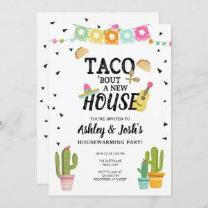 Fiesta Taco Bout A New House Housewarming Party Invitation