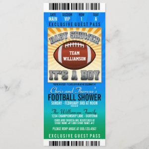 Football Party Baby Shower