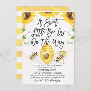 Gender Neutral Bee Themed Baby Shower