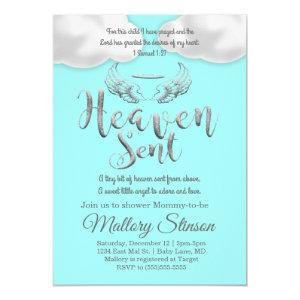 Heaven Sent Invitation