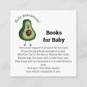 Holy Guacamole! books for baby Enclosure Card