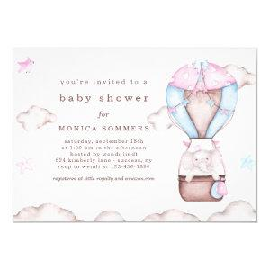 In a Cloud Baby Shower Invitation