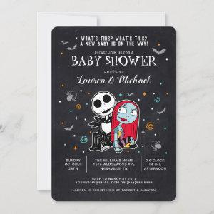 Jack and Sally Chalkboard Baby Shower